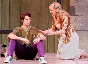 Matthew Leddy and Erika Whalen at the Main Street Theatre Company, Rancho Cucamonga, CA