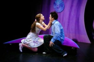Kylie Brown and Derek Manson, Alliance Theatre. Photo Credit: David De Vries