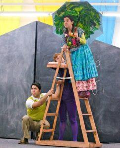 Steve Limones, Rae Henderson and Camden Gonzales on the La Jolla Playhouse POP Tour. Photo Credit: J.T. MacMillan