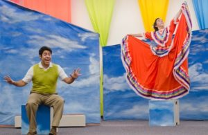 Steve Limones and Camden Gonzales on the La Jolla Playhouse POP Tour. Photo Credit: J.T. MacMillan